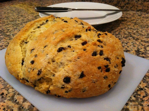 Not so Irish soda bread