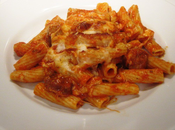 Baked Ziti With Ricotta And Sausage Recipe Clinic