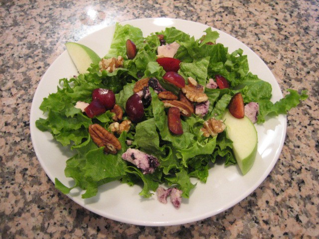 Cherry and Nut Salad