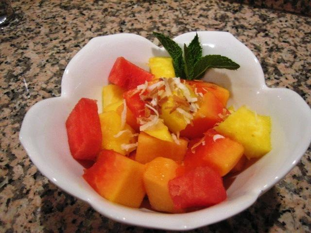 Tropical Fruit Cup Recipe — Dishmaps