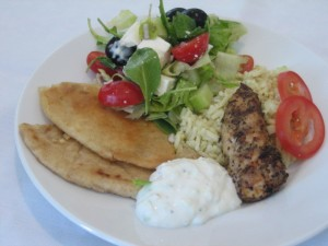 Tzatziki1 300x225 Grilled Greek Chicken Tenderloins