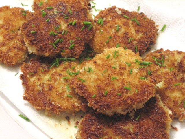 Chive Risotto cakes1