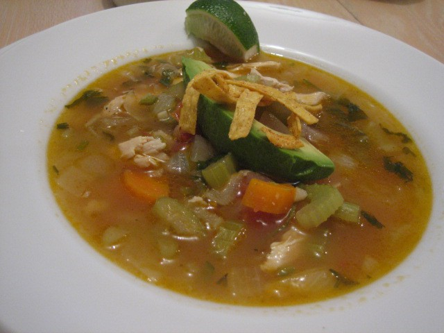 Mexican Chicken soup1