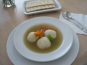matzo balls in homemade chicken stock 300x225 Homemade Chicken Stock