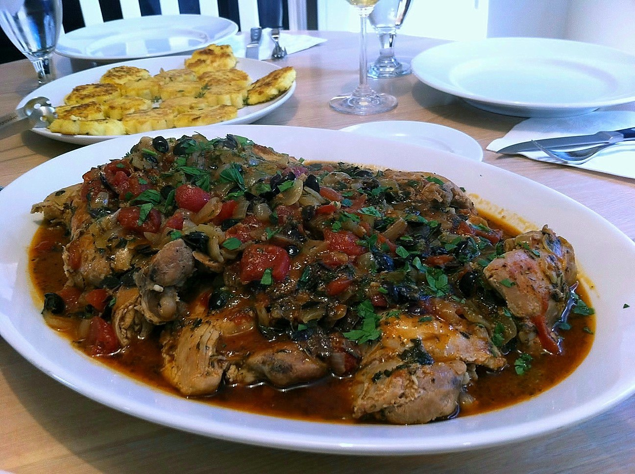 Chicken Provencal
