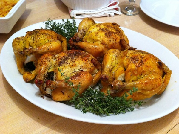 Cornish Hen Platter