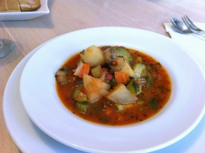 Veggie Soup 300x224 Low Fat Vegetable Soup