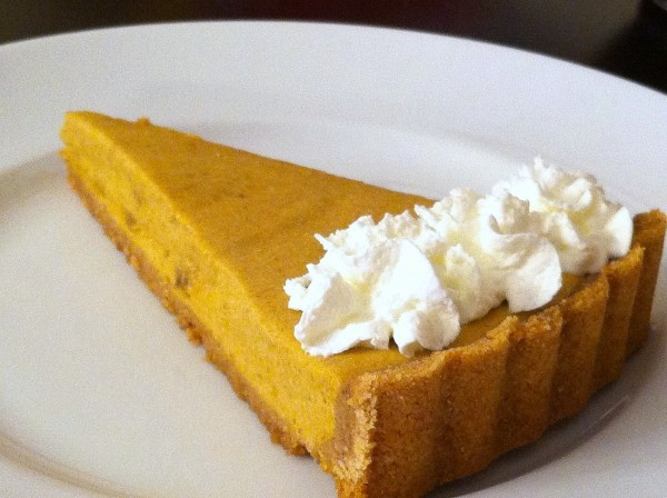 pumpkin banana tart