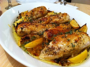 Lemon herb baked chicken 2 300x224 Baked Herb Lemon Chicken