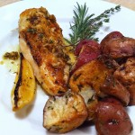 Lemon herb baked chicken 4