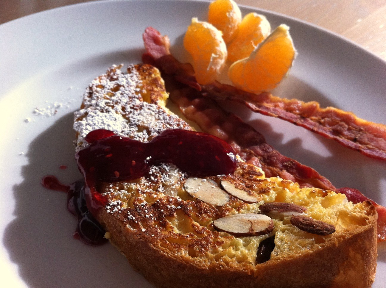 Panettone French Toast - Andicakes