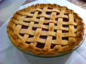 Easy Cherry Pie 300x224 Easy Cherry Pie