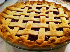Easy Cherry pie1 300x224 Easy Cherry Pie
