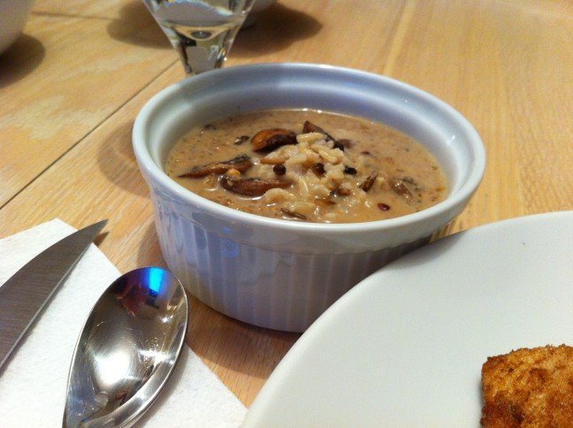 Wildmushroom soup 2